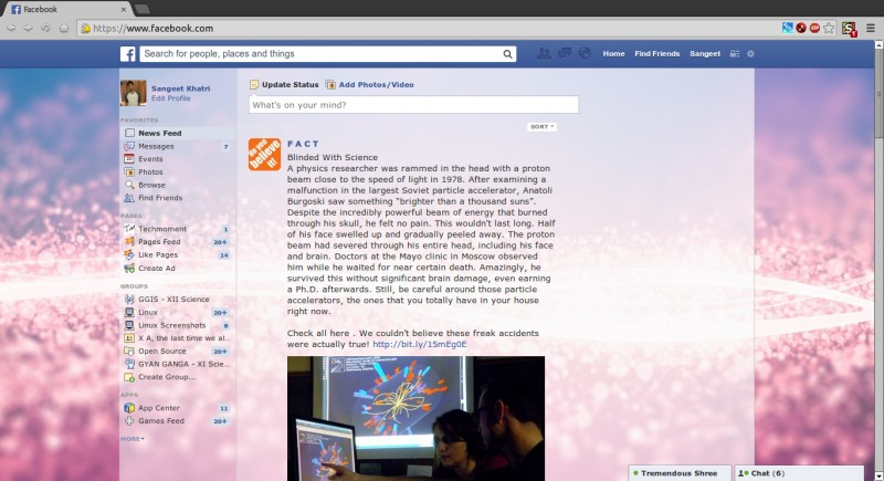 download facebook new theme